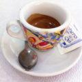 espresso in an Italian coffee bar