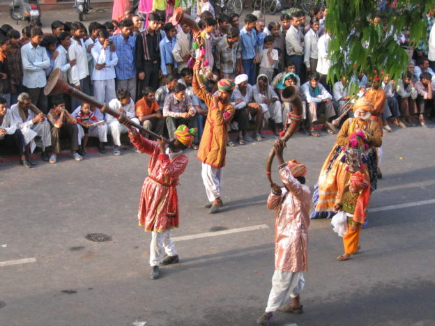 trumpeters, Teej Parade, Jaipur