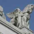 Milan Central Station - winged horses