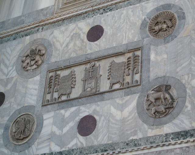 detail on St Mark's cathedral