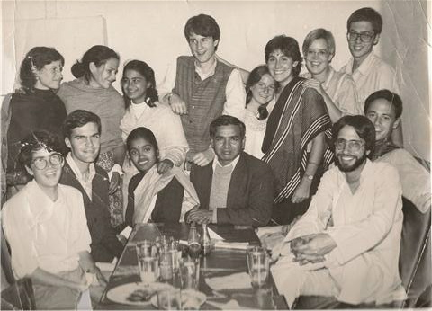 The University of Wisconsin College Year in India Program, 1985-86