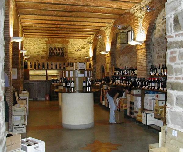 wine tasting room, Greve del Chianti
