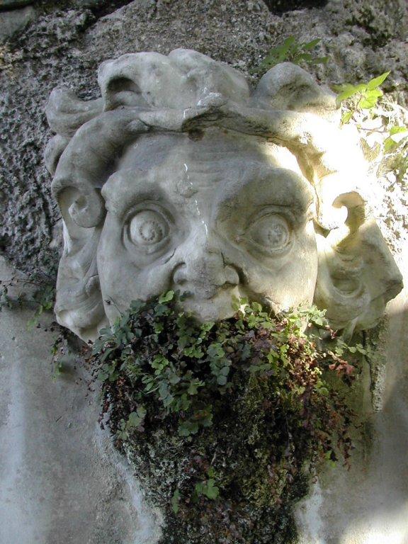 sculpture, Varenna, Lake Como, Italy