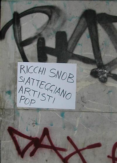 ricchi snob