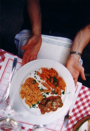 Italian dinner - 3 pastas