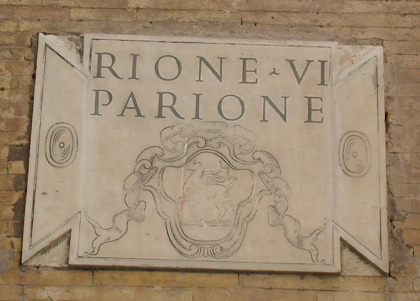 Rione Parione