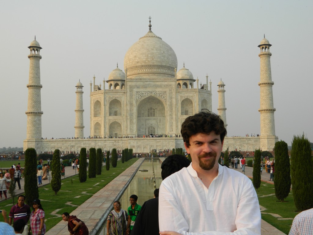 Brendan Gregg at the Taj Mahal