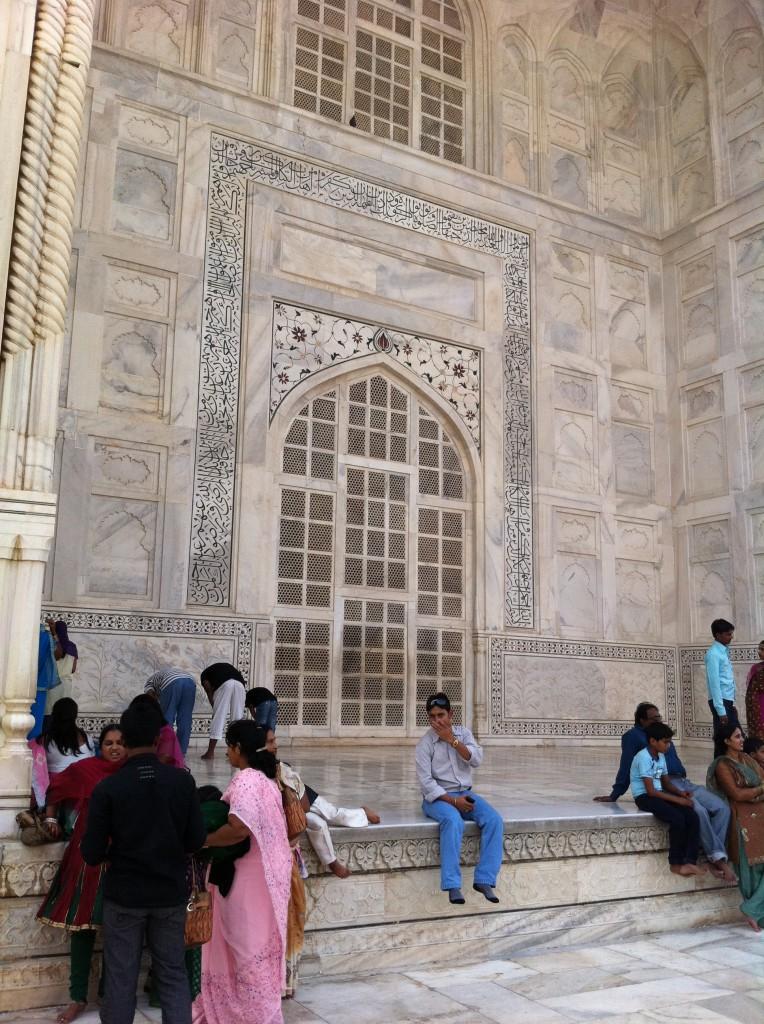 Taj Mahal, side portico