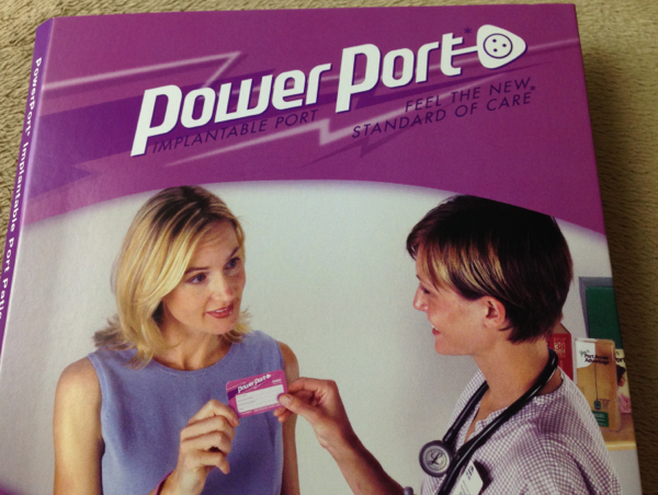 Power Port booklet