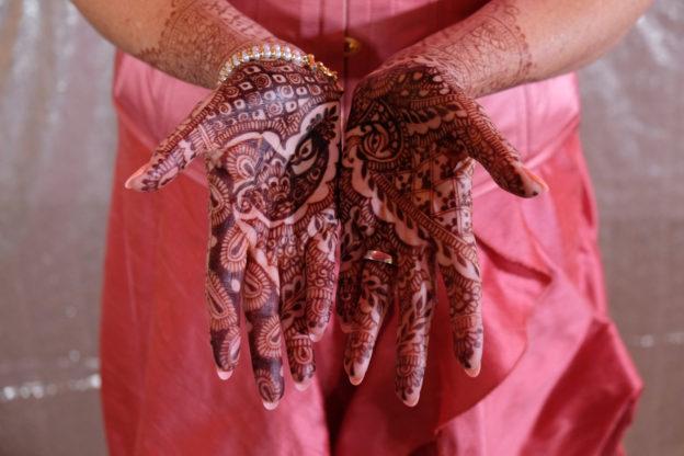 Pink Wedding: Bridal Mehndi